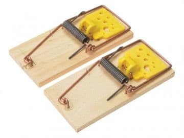 Wooden Mouse Traps, FSC® (Twin Pack)